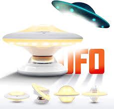 led nachtlicht ufo desigh warmweiß bewegungsmelder