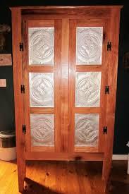 10 Best Punched Tin Panels Pinterest Pie Safe Cabinet