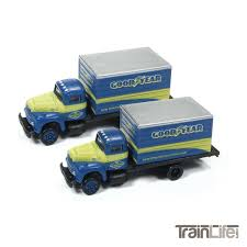 N Scale: IH R190 Delivery Box Truck - Goodyear - 2 Pack - TrainLife.com Tomytec Nscale Truck Collection Set D Lpg Tanker Gundambuilder N Scale Classic Metal Works 50263 White Wc22 Kraft Finenscalehtml Oxford Diecast 1148 Ntcab002 Scania T Cab Curtainside Ian 54 Ford F700 Delivery Trucks Trainlife Gasoline Tanker Semi Magirus Truck Wiking 1160 Plastic Tender Truckslong Usrapr 484 Northern 1758020 Beer Trucks Athearn 91503c Cseries Cadian 100 Ton N11 Roller Bearing W Semiscale Wheelsets Black 1954 Green Giant 2 Pack 10 Different Ultimate Scale Trucks Bus Kits Most In Orig