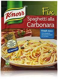 knorr fix spaghetti alla carbonara 3 portionen