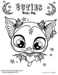 Creative Cuties Betsy Bat Free Printable Coloring Page