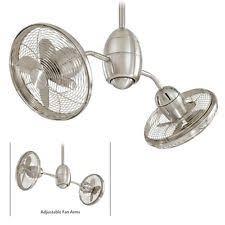 dual ceiling fan ebay