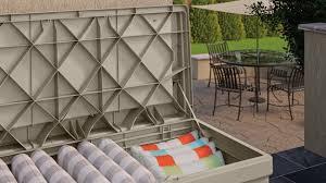 99 gallon deck box with seat suncast corporation