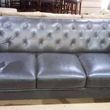 Fabrizio Leather Sectional Sofa Living best undermount kitchen