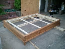 winsome homemade platform bed 70 build platform bed slats how to