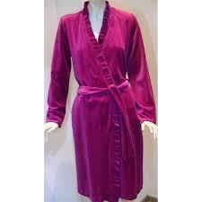robe de chambre velours femme robe de chambre peignoir de nuit robe de chambre