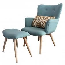 fauteuil pas cher fauteuil avec repose pieds stockholm achat vente fauteuil bleu
