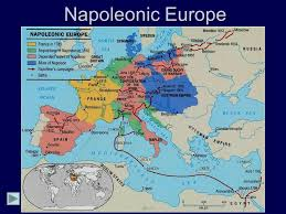 Europe In Napoleonic Napoleons Major Military Campaigns