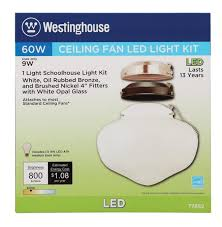 Westinghouse Ceiling Fan Light Kit by Westinghouse 3 In 1 Led Indoor Outdoor Schoolhouse Energy Star