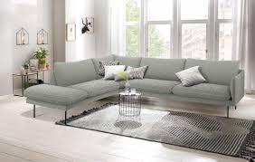 andas ecksofa mavis mit ottomane und losen sitz und rückenkissen skandinavischer stil