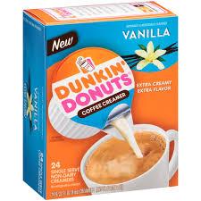 Dunkin Donuts Pumpkin Donut Calories by Dunkin Donuts Extra Extra Coffee Creamer Quart Walmart Com