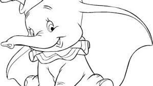 Dumbo Coloring Pages Free Collection