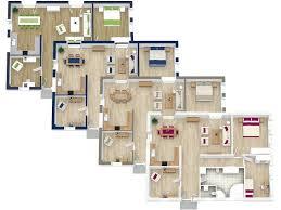 Interesting Idea 6 3d Floor Planning 3D Plans