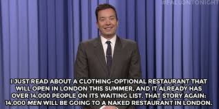 I Just Read About A Clothing Optional Restaurant That Will Open In London This