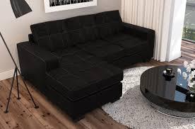 canapé tissu noir canapé d angle tissu haut de gamme italien vachette vénésetti