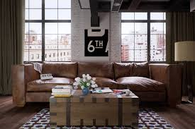Decorating With Brown Couches by Just Chill U0026 Be Relax On Luxury Leather Sofa