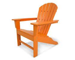 Pottery Barn My First Anywhere Chair Insert by Amazon Com Polywood Sba15ta South Beach Adirondack Tangerine