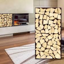 kaminholz board deko wandverkleidung wodewa