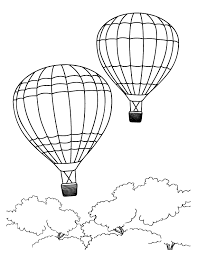 Full Size Of Coloring Pagesalluring Hot Air Balloon Pages Flying Large