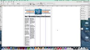 Indesign Newspaper Template Choice Image Templates Design Ideas