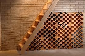 range bouteille en brique range 15 bouteilles polystyrène mr bricolage
