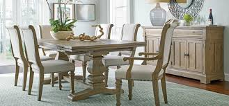 Rustic Pine Farmhouse Dining Table By Kincaid Furniture