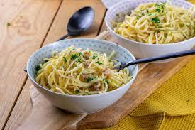 lachs pasta mit cremiger sahnesauce