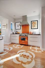 Winsome Orange Lacquer Tray Decor Ideas In Kitchen Contemporary Design With Chalkboard Countertop Eclectic Glass Backsplash Gray Walls