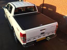 Armadillo Bed Liner by Ford Ranger Armadillo Roller Shutter Mk5 6 Double Cab Tops4trucks