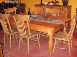 table de cuisine en bois massif meubles de salle à manger table de bois massif faites sur mesure