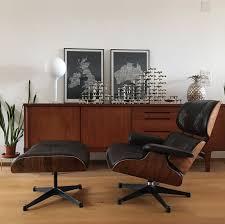 Eames Lounge Chair & Ottoman (Vitra) | Bellbird Vintage Blog