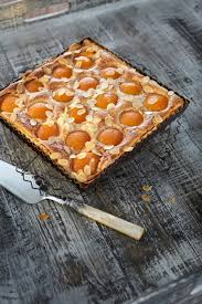 aprikosen mandel tarte