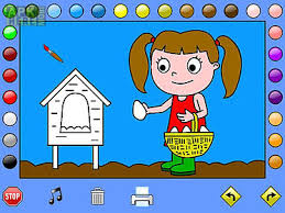 Coloring Games For Android Free Download At Apk Here Store