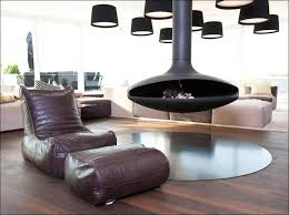 Superb Beanbag Chair In Living Room Contemporary With Modern Recliners Next To Cheap Basement Makeovers Alongside Hanging