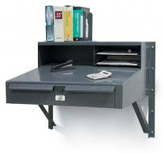 Strong Hold Products Wall Mounted Industrial Shop Desk pertaining