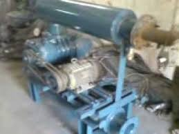 Dresser Roots Blowers Usa by Industrial Tri Lobe Roots Blower Exhausters Youtube