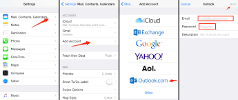 Live Outlook and Hotmail on iPhone How to Add