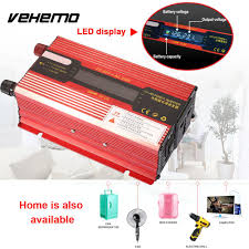 VEHEMO 800W Solar Sine Wave Adapter Truck Power Inverter Car ... Tripp Lite Power Invters Inlad Truck Van Company How To Install A Invter In Your Vehicle Biz Shopify Amazoncom Kkmoon 1500w Watt Dc 12v To 110v Ac Shop At Lowescom Autoexec Roadmaster Car With Builtin And Printer 1200w Charger Convter China Iso Certificated 24v Oput Cabin Air 24v Pure Sine Wave 153000w Aus Plug Caravan Tractor Auto Supplies Http 240v Top Quality 1000w Truckrv 3000w 6000w Pure Sine Wave Soft Start Power Invter Led Meter