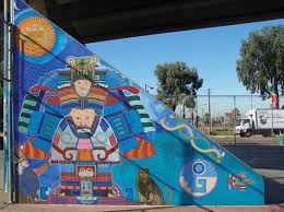Chicano Park Murals Map by A Mural From Chicano Park In San Diego Ca Us Latino Places