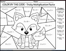 Color By Number Rounding Worksheets With Free Math Coloring For Kindergarten Page Numbers