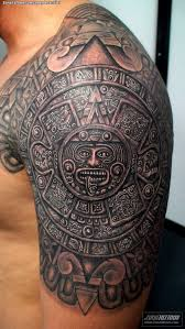 Beautiful Aztec Calendar Tattoo Designs 32 About Remodel Sleeve With