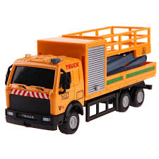 100 Truck Model Engineering Vehicles Alloy Car Rescue Vehicles Toy