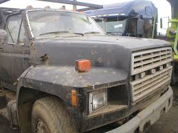 100 Ford Truck Parts 1985 FORD F700 Hood
