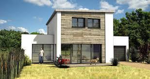 facade maison contemporaine mc immo