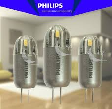 ph 12v 2w led g4 capsule bulb 3000k warm white 12v2w 2 pins l