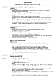 RN Program Coordinator Resume Samples | Velvet Jobs 10 Clinical Research Codinator Resume Proposal Sample Leer En Lnea Program Rumes Yedberglauf Recreation Samples Velvet Jobs Project Codinator Resume Top 8 Youth Program Samples Administrative New Patient Care 67 Cool Image Tourism Examples By Real People Marketing Projects Entrylevel Data Specialist Monstercom