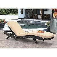 Keter Rattan Lounge Chairs by Keter 2 Pack All Weather Rattan Chaise Lounger Various Colors