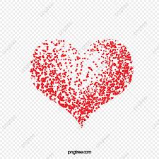 Amor Corazon Rojo Creativa De Fondo Fondo Rojo Material De