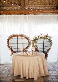 Bohemian Wedding On The Beach Sweetheart Table