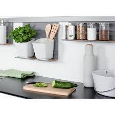 barre credence cuisine pot range couverts pour barre de crédence kesseböhmer bricozor